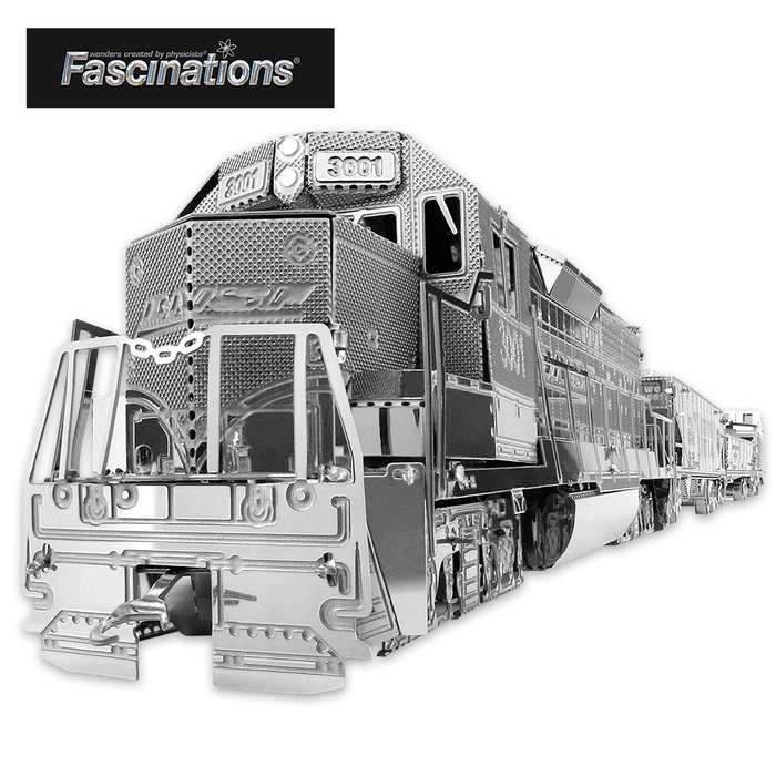 Fascinations 5-Piece Model Freight Train Building Kit