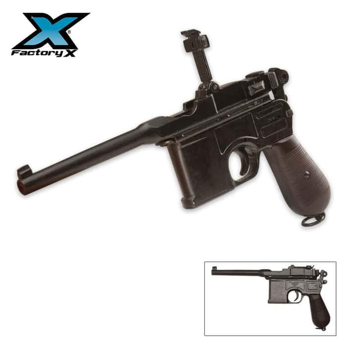 Replica WWII 1896 Mauser Automatic Pistol - Non-Firing