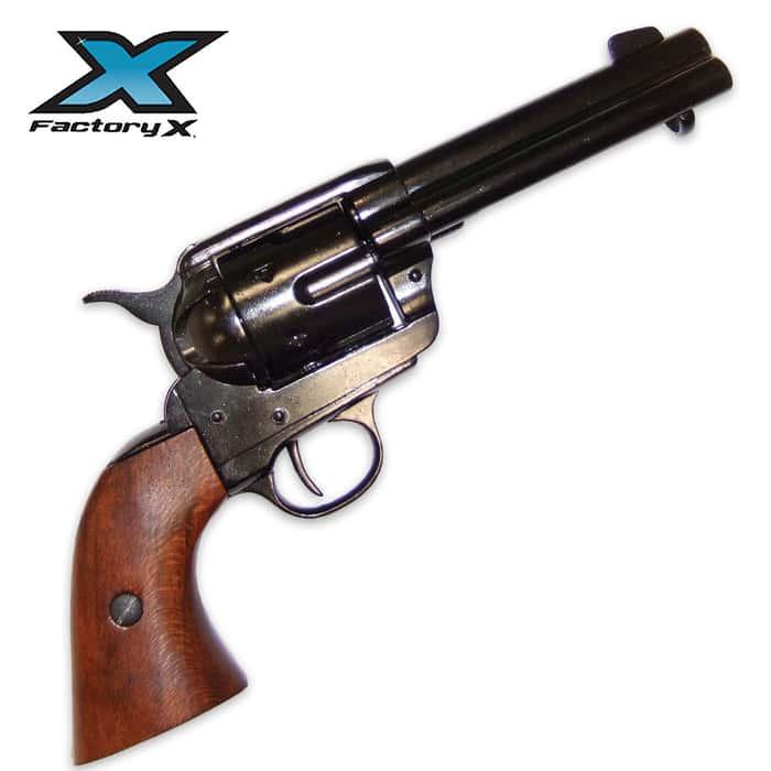 45 US Army Revolver Black Replica