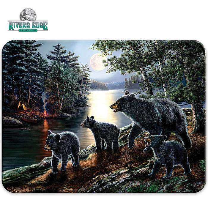 Bear Family Cutting Board