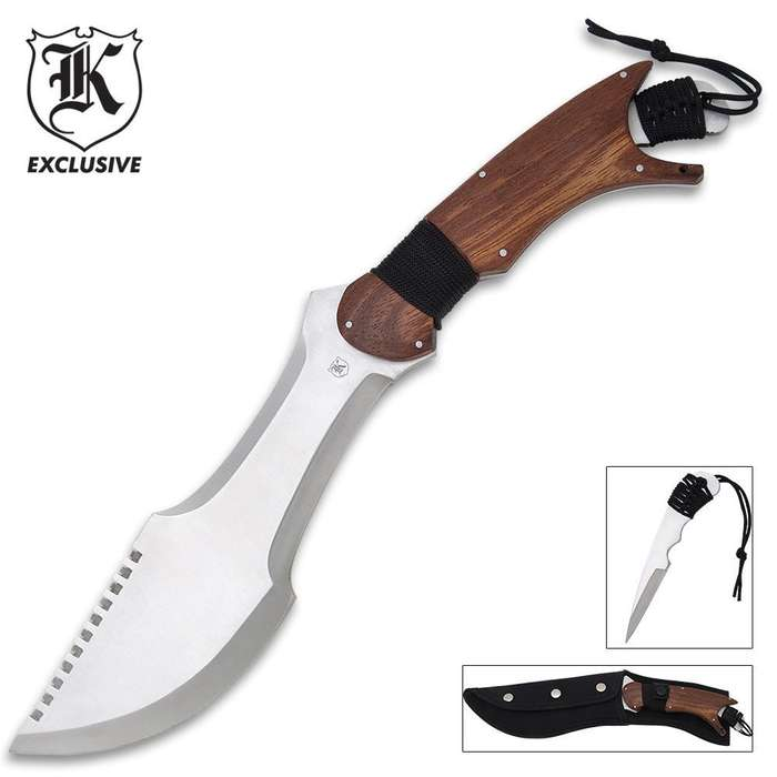 Paratrax Bowie Knife With Removable Dagger