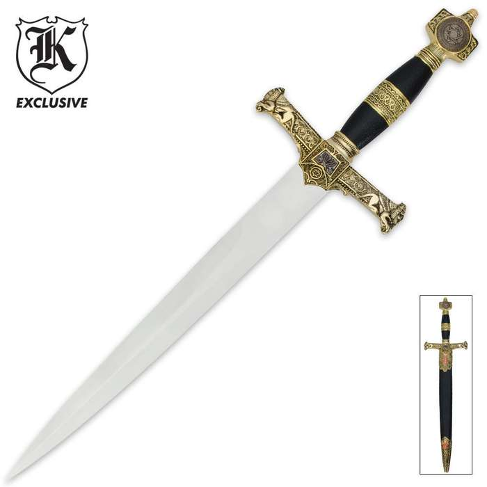 Star of David Antique Style Dagger