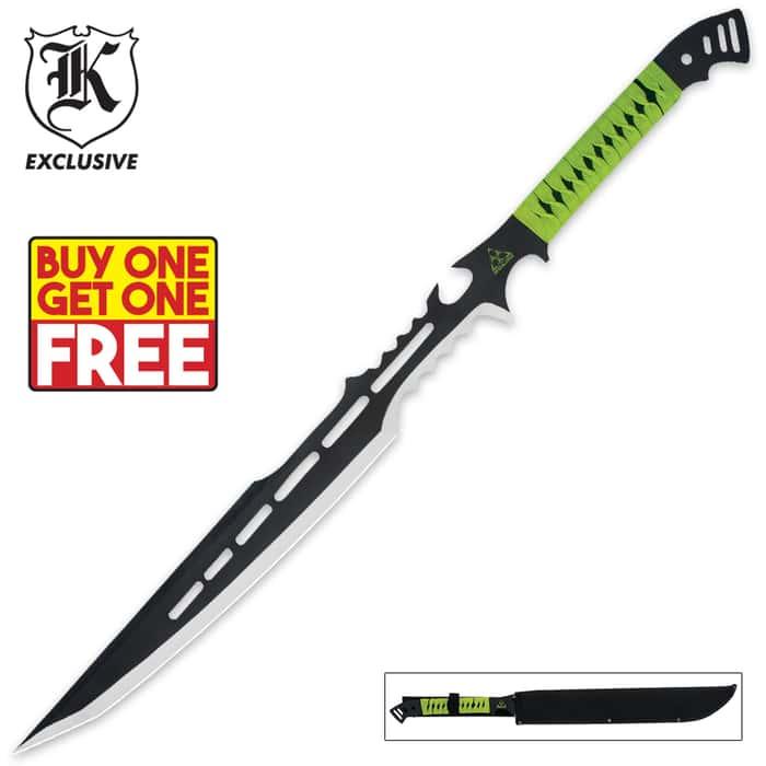 Apocalypse Warrior Sword with Sheath 2 for 1
