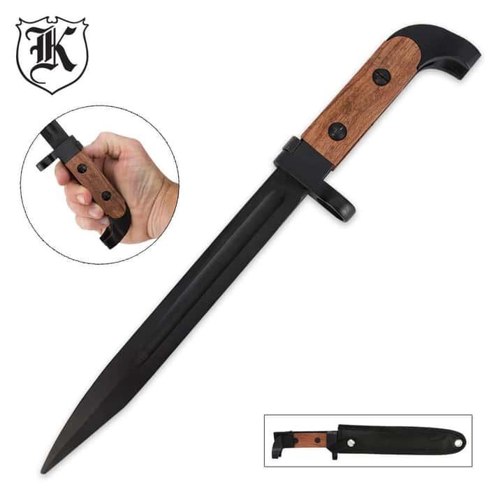 Bulgarian Style Bayonet Knife with Sheath