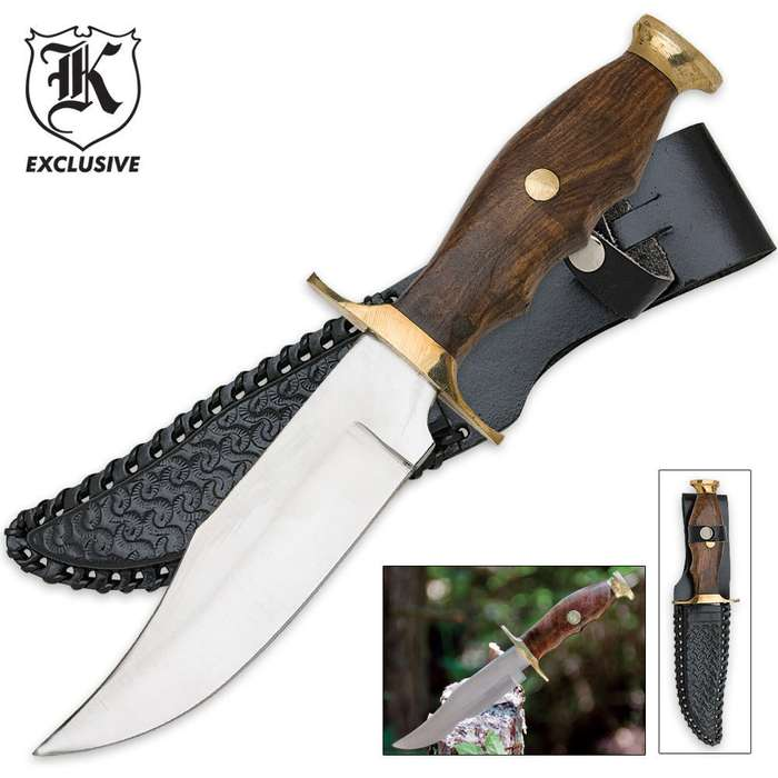 Mountain Man Classic Hunting Knife And Sheath