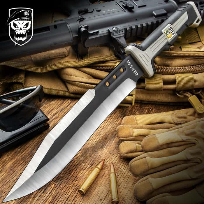 SOA ZULU 5.56 Combat Knife