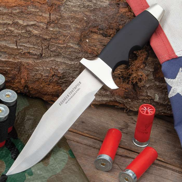 Redneck Toothpick Bowie Knife