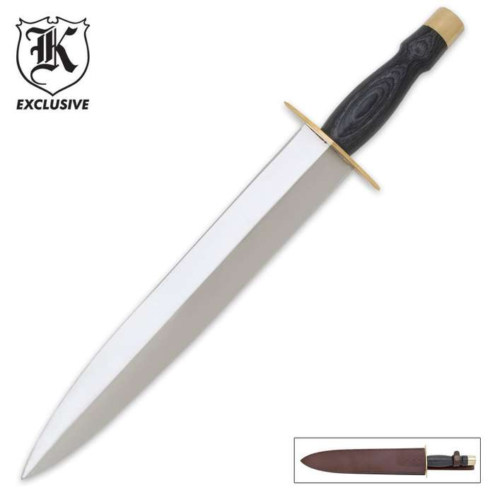 Arkansas Toothpick Knife & Sheath