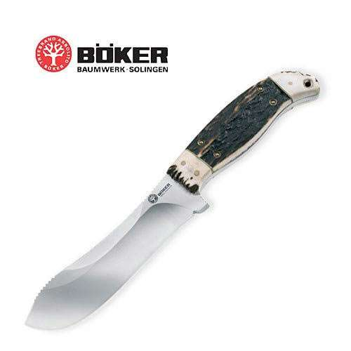 Boker Arbolito Crown Stag Hunting Knife