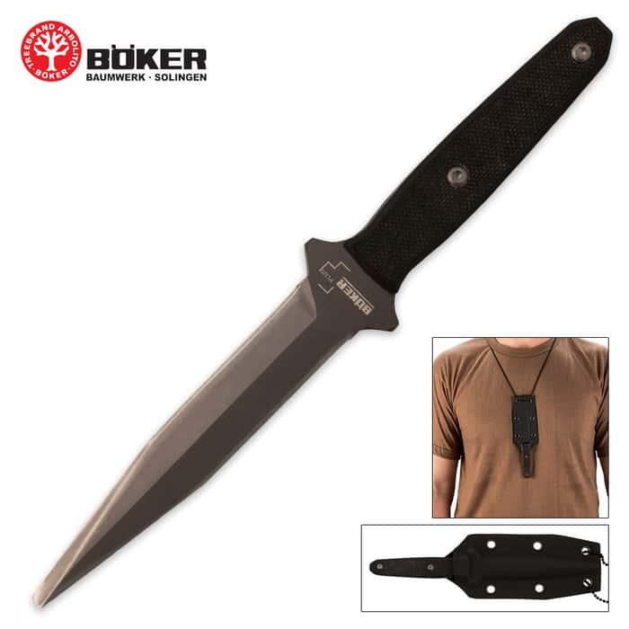 Boker Plus Besh-Wedge Neck Knife