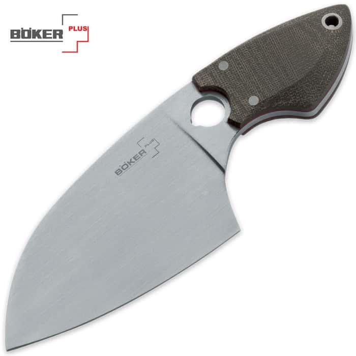Boker Plus SanYouGo Green Fixed Blade Knife