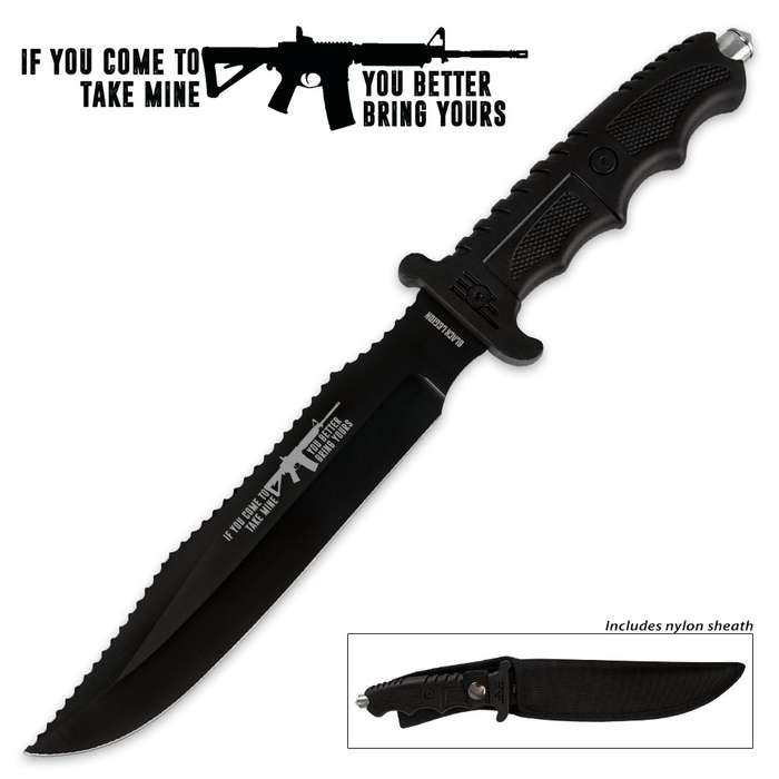 Black Legion Come and Take It Combat Knife