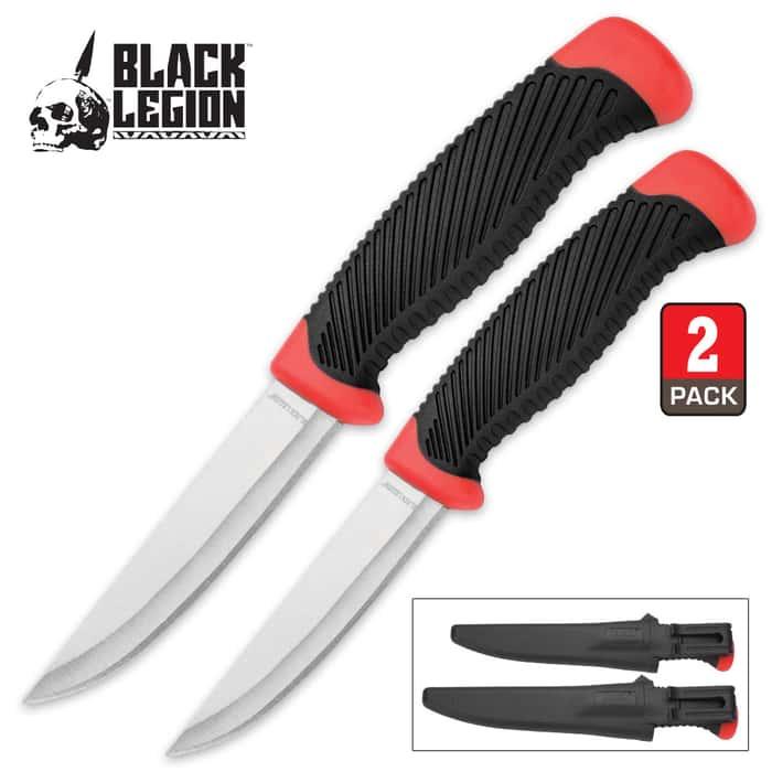 Black Legion Delta Defender Two-Piece Knife Set