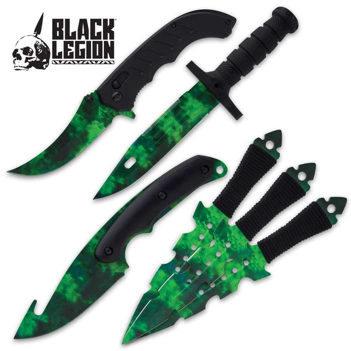 The Zombie Fighter Set from Black Legion is everything you've ever wanted and if you don't get it now, you'll regret it