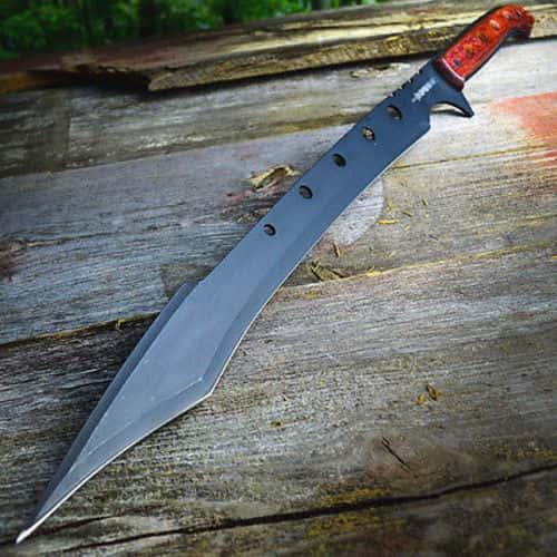 """Defender Xtreme 11"""" Black Hunting Knife"""