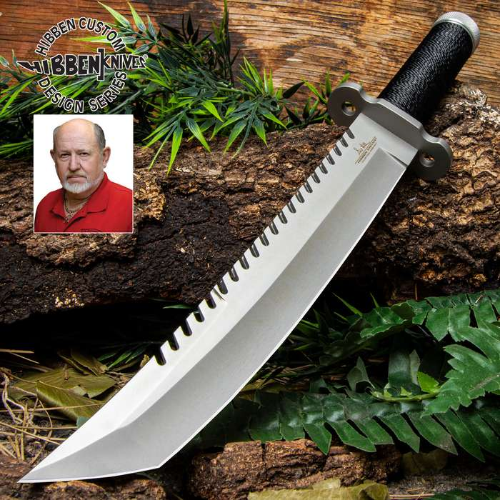 Gil Hibben Sawback Survival Tanto Knife