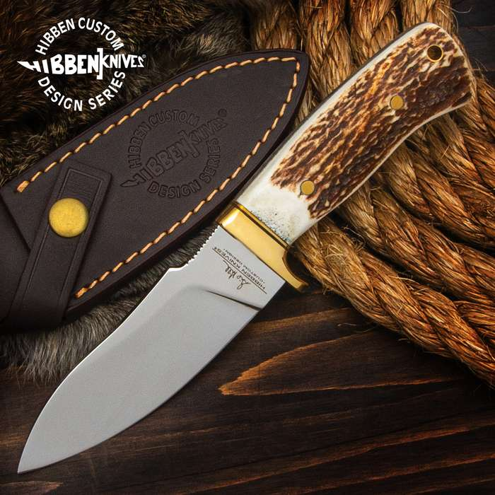Gil Hibben designed this knife to be that fixed blade you don't leave home without and this special edition is hard to put down