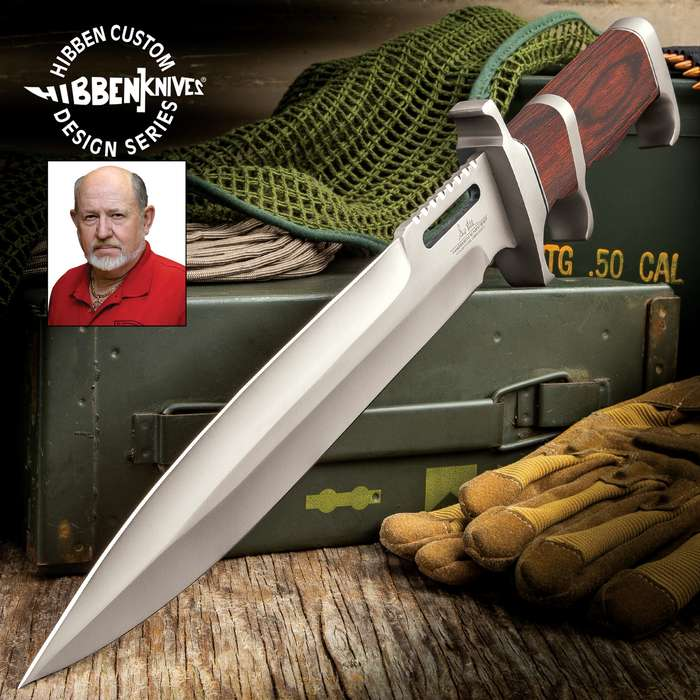 Gil Hibben continues to design exceptional knives made for hard every day use and this knife is up for anything you throw at it