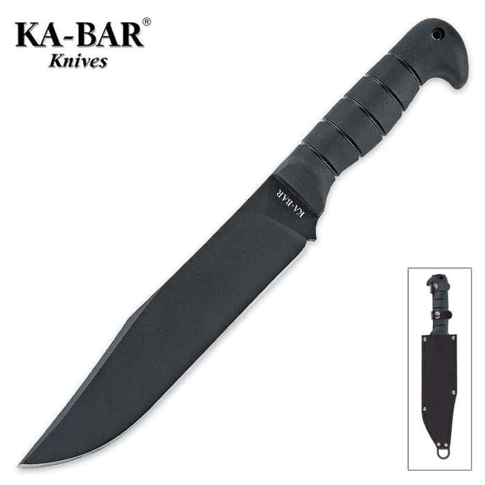 KA-BAR Bowie Knife Heavy with Sheath
