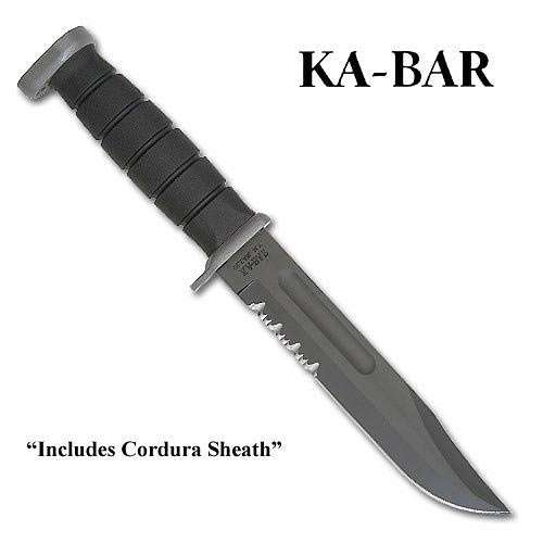 Kabar Extreme Bowie Knife with Cordura Sheath