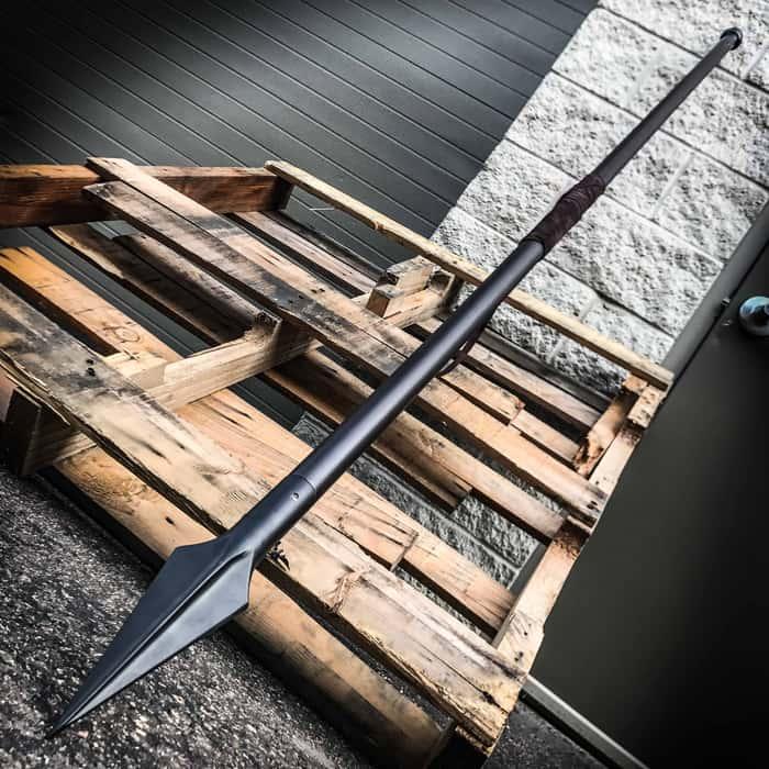 Historically Inspired Spartan Warrior Spear