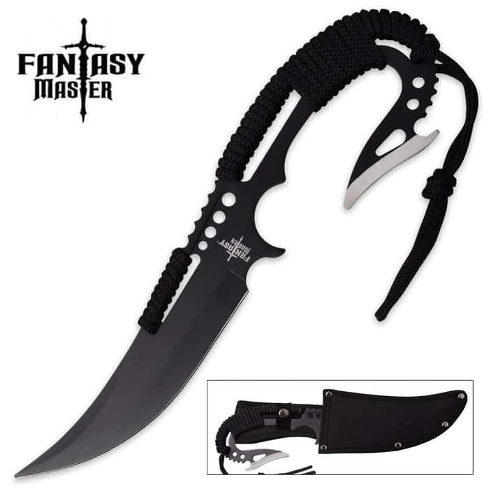 Fantasy Master Dragon Lance Fantasy Knife with Nylon Sheath