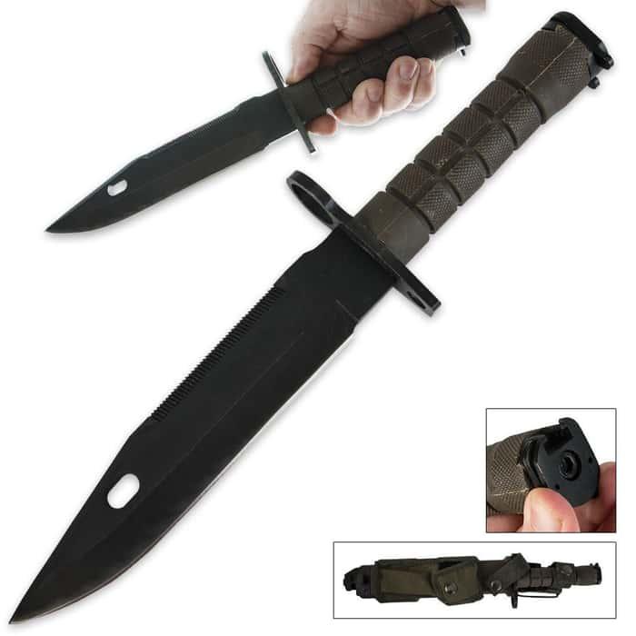 M9 Assault Rifle Bayonet Knife