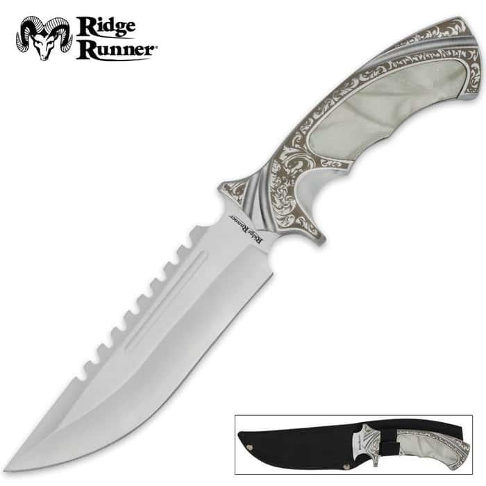 Ridge Runner Imitation Pearl Knife