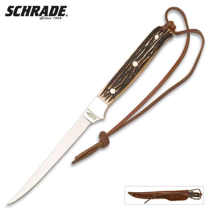 Schrade Uncle Henry Walleye Fillet Knife
