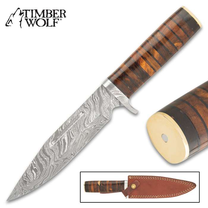 The Timber Wolf Numidia Hunting Knife is absolutely ready to go up against the Big Five Game, when you're out on Safari