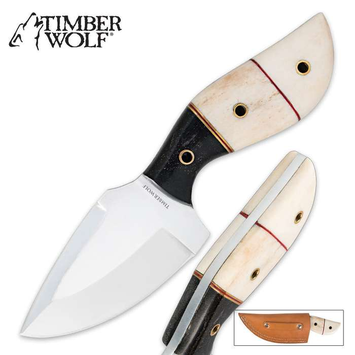 Timber Wolf Midwestern Mornings Caping Skinner Knife