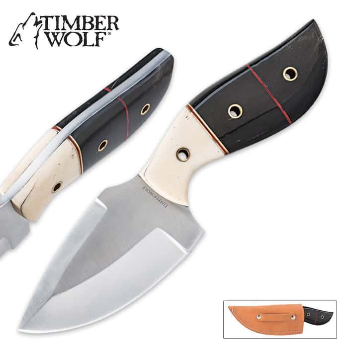 Timber Wolf Southwestern Sunrise Caping Skinner Knife