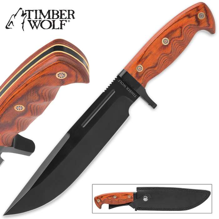 Timber Wolf Extreme Traditional Bowie Knife