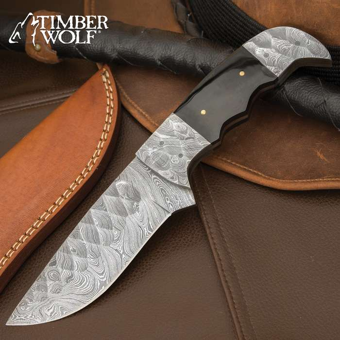 This Timber Wolf fixed blade knife is an exceptional fixed blade skillfully crafted to be both powerful and precise