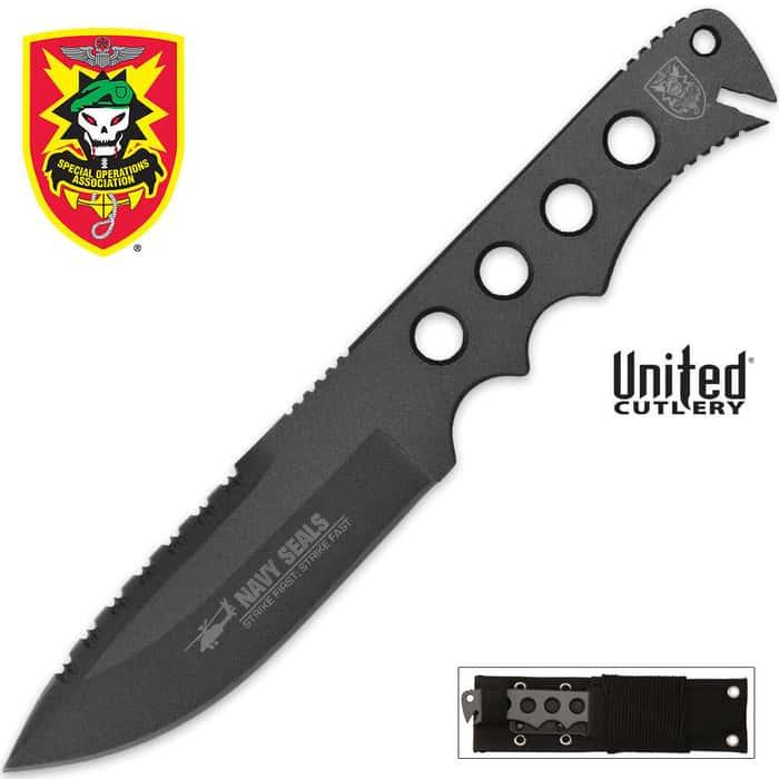 United Commander Knife with Nylon Sheath
