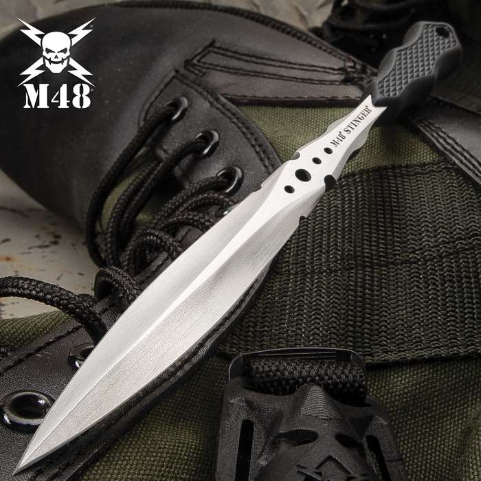 M48 Stinger Urban Dagger With Shoulder Harness