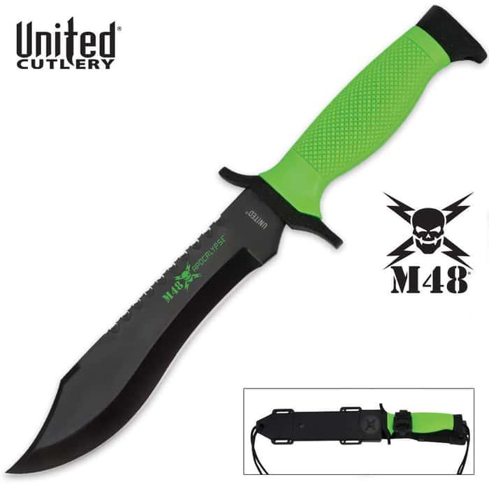 M48 Apocalypse Survival Knife & Tactical Sheath