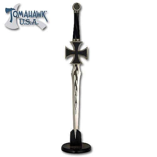 Black Iron Cross Dagger