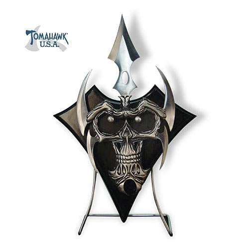 Bladed Skull Face with Removable Dagger