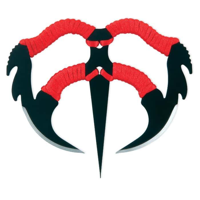 Black Blade Demon Dagger Knife