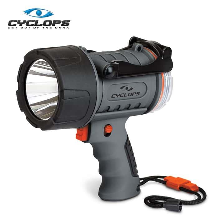 Cyclops Rechargeable Waterproof Spotlight - 300 Lumens
