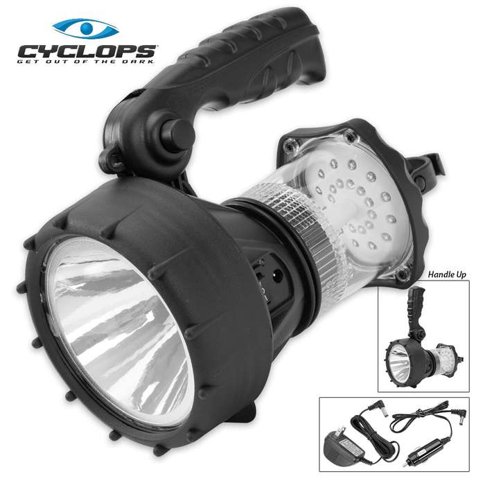 Cyclops Fuse Rechargeable Spotlight And Lantern