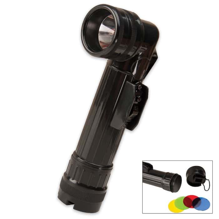 G.I. Type D-Cell Flashlight Black
