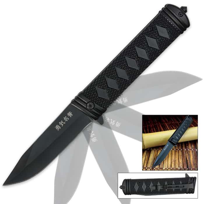 Samurai Assisted Opening Pocket Knife