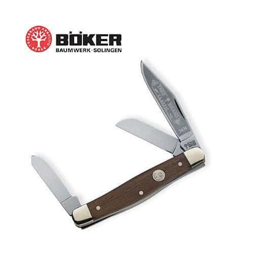 Boker Solingen Rosewood Premium Stockman Folding Knife