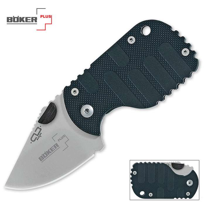 Boker Black Subcom Pocket Knife