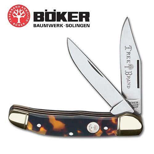 Boker Celluloid Tortoise Congress Folding Knife
