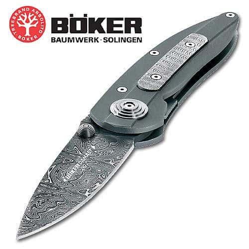 Boker Yearly Damascus Folding Knife