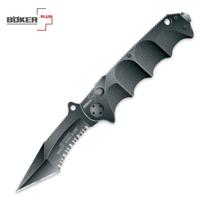 Boker Jim Wagner Reality Based Tanto Folding Knife