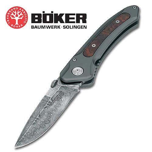 Boker Eurofighter Damascus Folding Knife
